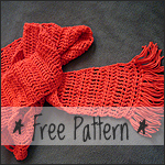 chelle-chelle.com sampler stitch scarf free pattern