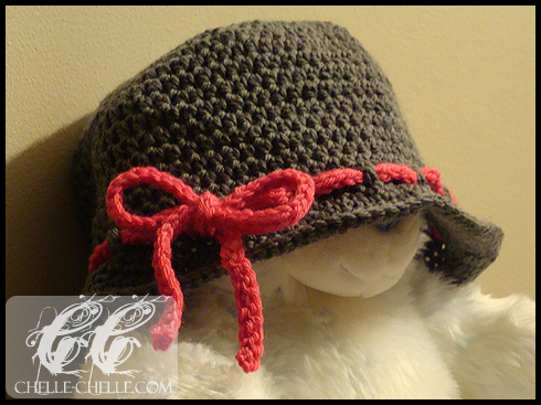 Chelle Chelle Crochet Knit Craft Ruse A Cloche Inspired